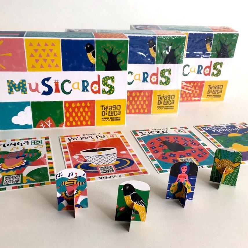 Jogo Musicards - faça música brincando